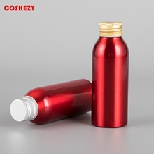 100ml Red Aluminium Esscencial Oil Bottle Packaging
