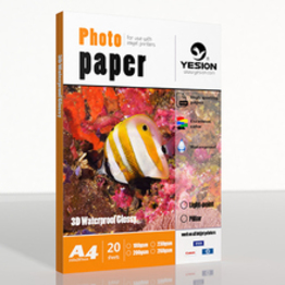180gsm 3D glossy photo paper A4