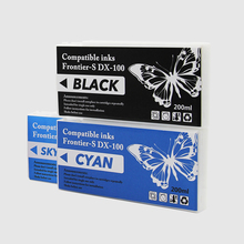 dry minilab compatible ink cartridge for fuji DX100 printer