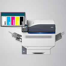 laser printer with white toner