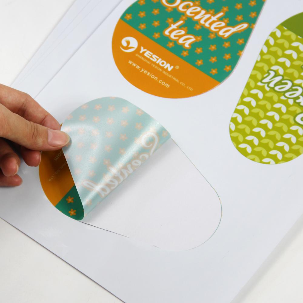 A4 MATT MATTE SELF ADHESIVE PAPER INKJET PRINTABLE STICKY BACK 120gsm 5 SHEETS